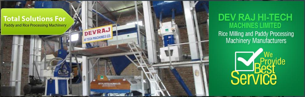 Dev Raj Hi-Tech Machines Limited Banner
