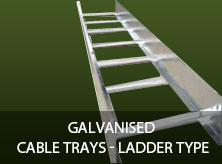 Galvanised Cable Trays - Ladder Type