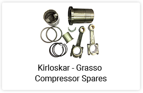 Kriloskar Grasso Compressor Spares