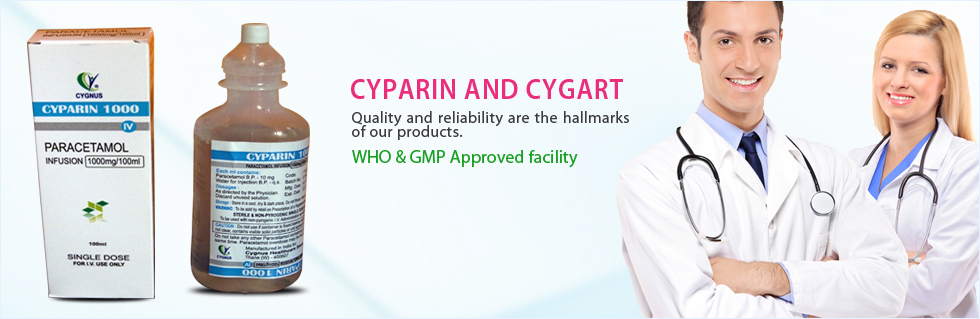 Cygnus Healthcare Specialities Pvt. Ltd. Banner