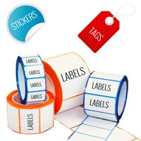 Labels, Stickers & Tags