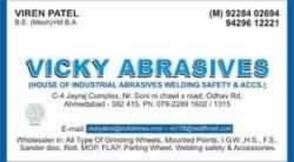 Vicky Abrasives