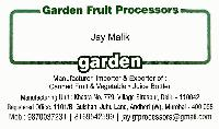 Garden Fruit Processors