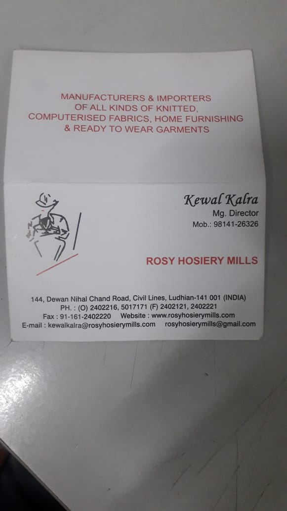 Rosy Hosiery Mills