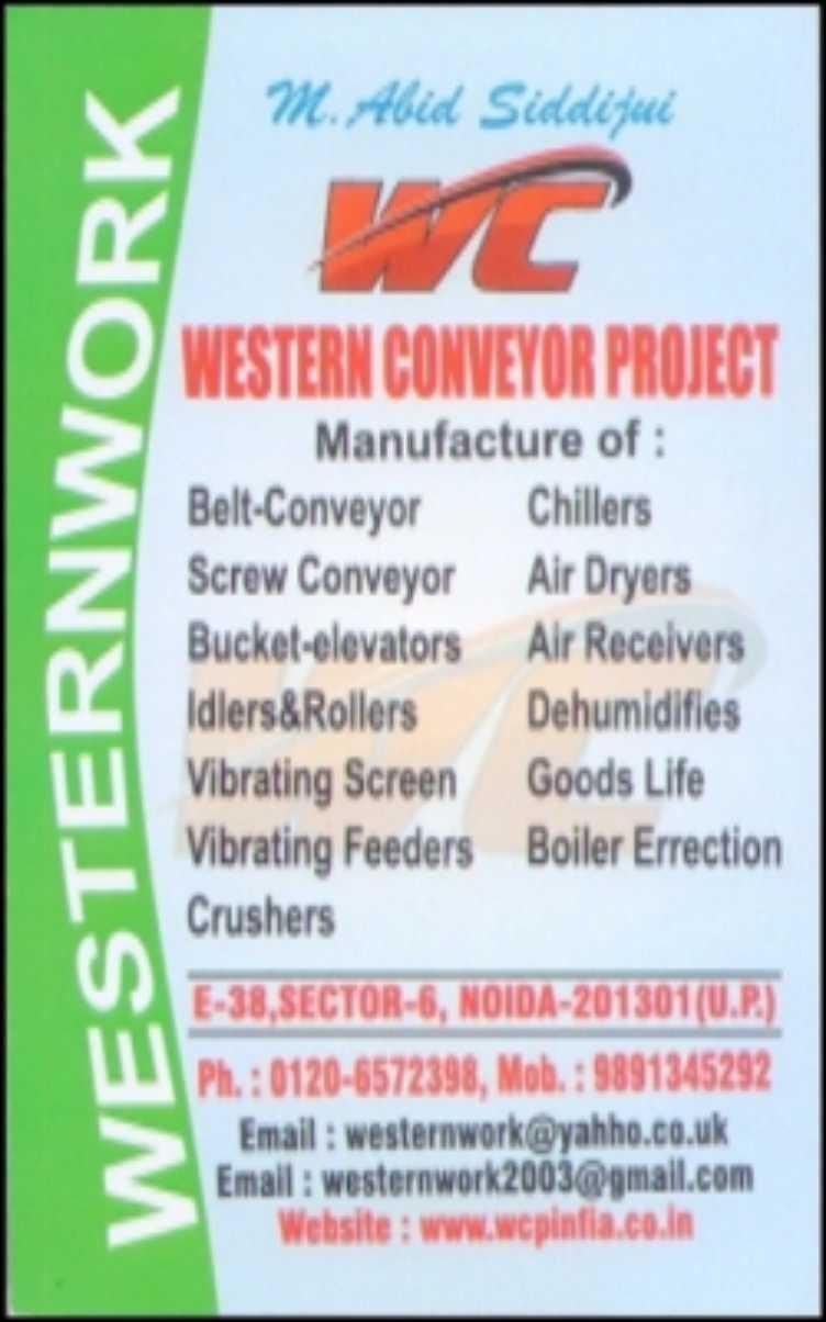 WESTERN CONVEYOR PROJECTS