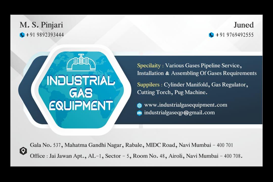 INDUSTRIAL GAS EQUIPMENT
