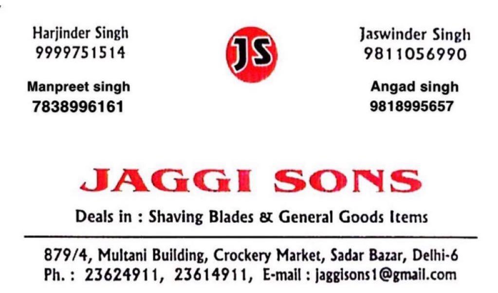 Jaggi Sons