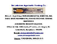 Sri Lakshmi Agarbathi Trading Co.