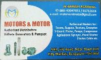 MOTORS & MOTOR