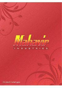 MAHAVIR INDUSTRIES