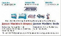JAYSON MACHINE'S IMPEX