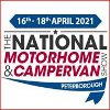 The National Motorhome Exhibition - Peterborough 2021