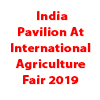 India Pavilion At International Agriculture Fair 2019
