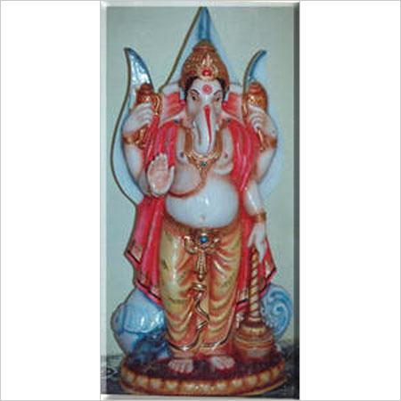 Lord Ganesha Fiber Statue