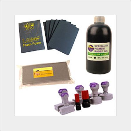 Pre Ink Stamp Materials
