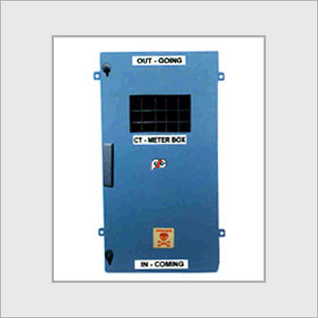 CT-Meter Box with 3 Phase LT Resin Cast CT