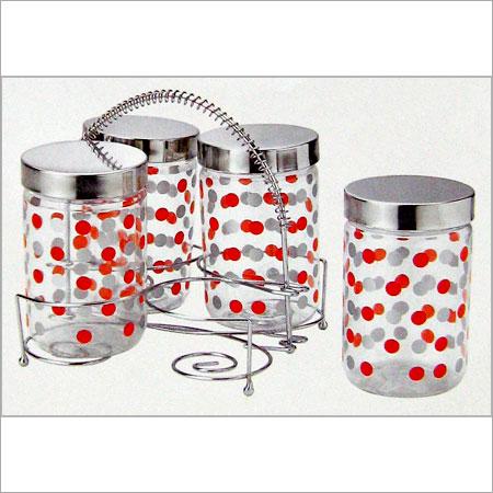 500 ml air tight glass jars in mumbai maharashtra shree. Black Bedroom Furniture Sets. Home Design Ideas