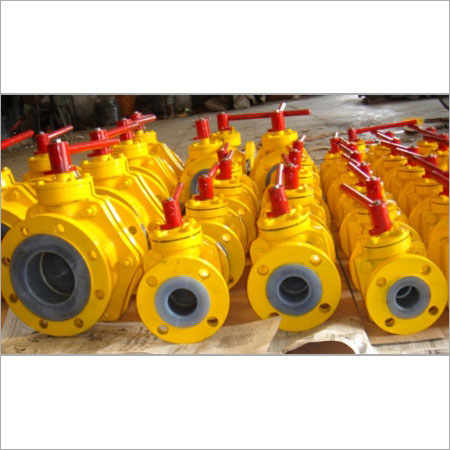 Ptfe Lined Valves