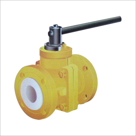 PTFE Lined Ball Valve