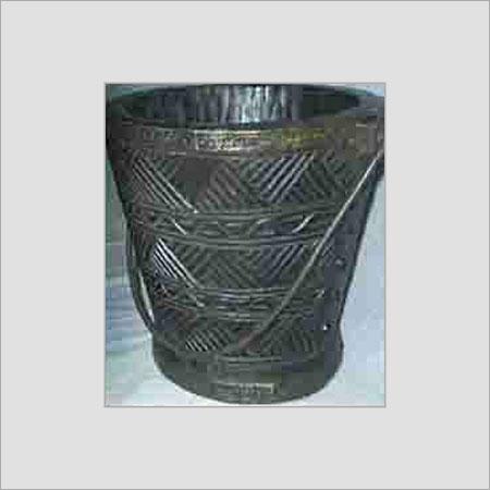 Wooden Bucket Nepali Village Handicrafts Office No 157 A Dda