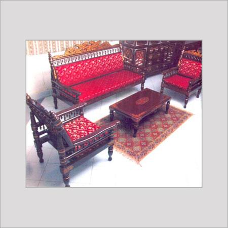 Nirmal Sofa Set Painted Lepakshi Handicrafts Emporium Hastha Kala