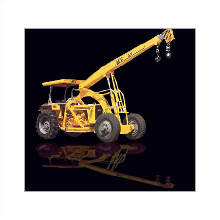 ARTICULATED HYDRAULIC MOBILE CRANE