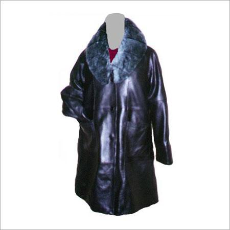 Black Leather Coat in  T Nagar