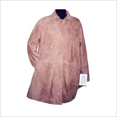 Mens Leather Overcoat