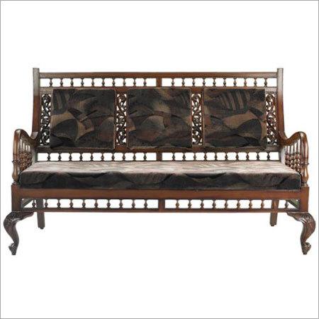 teak wood sofa set in chennai tamil nadu india jayabharatham furniture appliances pvt ltd. Black Bedroom Furniture Sets. Home Design Ideas