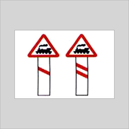 Unguarded Level Crossing Signs - KMGS Road Signs Pvt  Ltd