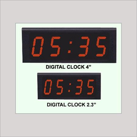 Master Slave Digital Clock