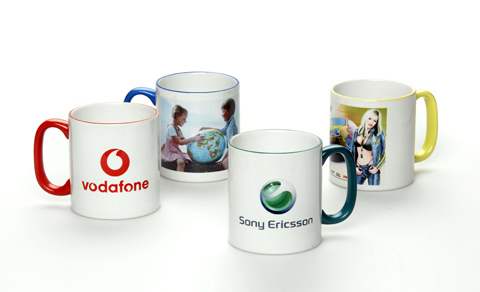 Customized Logo Printing On Mug - AMAN PRINTERS, BLOCK NO WZ