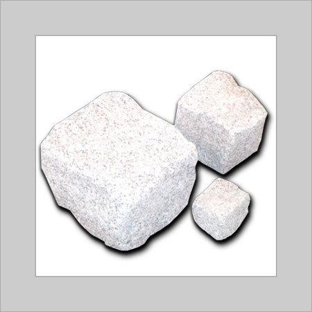Viscon White Stone Cubes