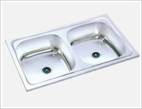 Double Bowl Kitchen Sink in  Muzaffarnagar