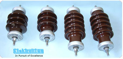 DISTRIBUTION CLASS ARRESTERS in  Road No. 9 (Vki)