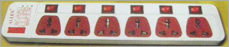 HEAVY DUTY SURGE SUPPRESSORS WITH 6 SOCKET
