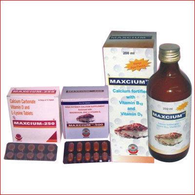 Haematinics, Calcium Supplements