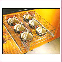 Right Angle Partition Basket
