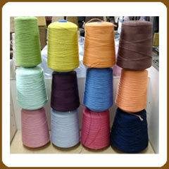 Coloured Knitting Yarns