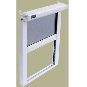 Retractable Invisible Fly Screen Window
