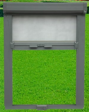 Roller Retractable Invisible Fly Screen Window