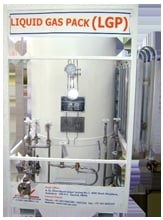 Super Insulated Cryogenic Liquid Gas Pack Pallets