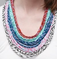 Chiffon Fabric Necklace