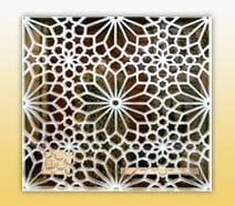 Hand Carved Marble Jali