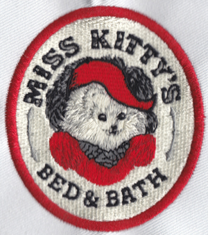 Miss Kitty Embroidery