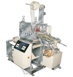Roll To Roll Rotary Die Cutting With Slitting And Sheet Cutting Option Machine