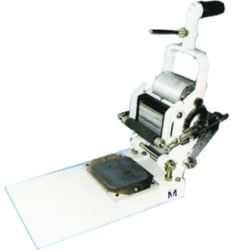 Hand Operated Batch Printing and Coding Machine