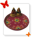 Laxmi Ganesh Puja Thali