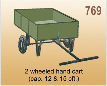 2 Wheeled Hand Cart