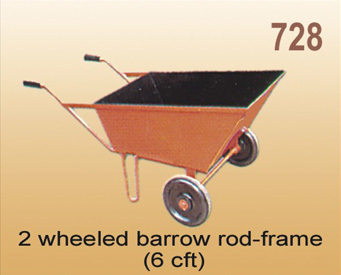 2 Wheeled Rod Frame Barrow